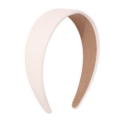 Hiuspanta|SUGAR SUGAR, Leatherette Hairband in White - valkoinen panta
