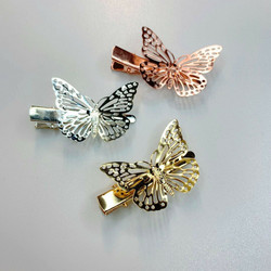 Hiuskoru, pinni|SUGAR SUGAR, Butterfly Clip -perhospinni, 2kpl pakkaus