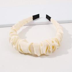Hiuspanta|SUGAR SUGAR, Shimmering Ruffle Hairband -valkoinen panta