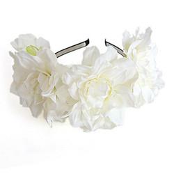 Kukkapanta|SUGAR SUGAR, Summer Dreams in White -valkoinen kukkakruunu