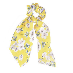 Donitsi/Scrunchie|SUGAR SUGAR, Bowtie with Flowers in Yellow