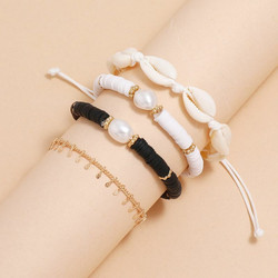 Rannekorusetti, FRENCH RIVIERA|Seaside Bracelets in Black & White