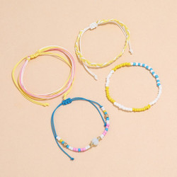 Rannekorusetti, FRENCH RIVIERA|Colourful Beach Bracelets