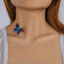Kaulakoru, FRENCH RIVIERA|Delicate Butterfly Choker