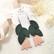 LEMPI-korvakorut, Frida (vihreä, vaaleanpunainen glitter)