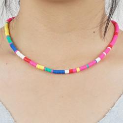 Kaulakoru, PAPARAZZI|Colorblocks Multicolour Surf Necklace