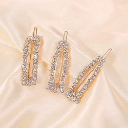 Pinnisetti|SUGAR SUGAR, Glamorous Clip Set in Gold