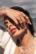 Sormus, BOHM PARIS|Bague Melany dorée avec cristal electric orange