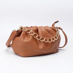 Laukku, BESTINI Paris|Pouch Handbag in Soft Brown