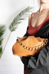 Laukku, BESTINI Paris|Pouch Handbag in Black