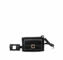 Laukku, BESTINI Paris|Crossbody Handbag in Black