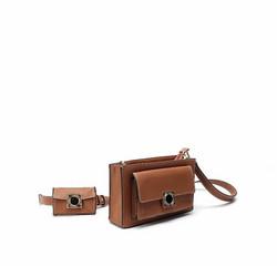 Laukku, BESTINI Paris|Crossbody Handbag in Brown