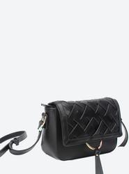 Laukku, BESTINI Paris|Handbag in Black with Braided Decoration