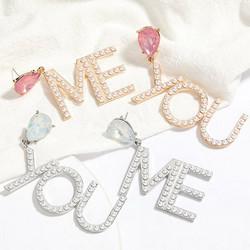 Korvakorut, PAPARAZZI|Me & You Pearl Earrings