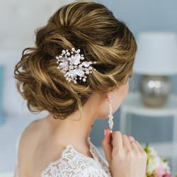 Hiuskoru, ATHENA BRIDAL|Beautiful Natural Pearl Haircomb