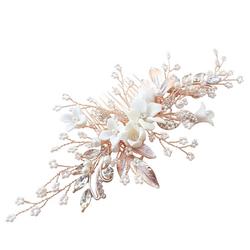 Hiuskoru, ATHENA BRIDAL|Blooming Jasmin Headpiece -Luxe Hair Comb (RG)