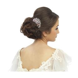 Hiuskoru, ATHENA BRIDAL JEWELLERY|Extravagance Hair Comb in Rosegold