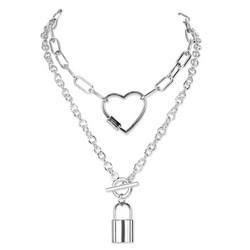 Kaulakoru, PAPARAZZI|Necklace with Large Heart
