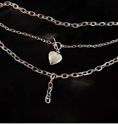 Kerroskaulakoru, PAPARAZZI|Necklace with Heart Locket