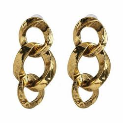 Korvakorut, PAPARAZZI|Wild Oval Gold Chain Earrings