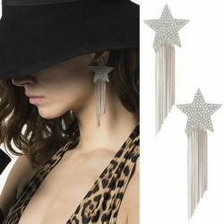 Korvakorut, PAPARAZZI|Trendy Large Star Earrings