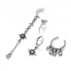 Korvakorut, PAPARAZZI|Set of Boho Silver Earrings