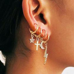 Korvakorut, PAPARAZZI|Set of Trendy Bling Earrings