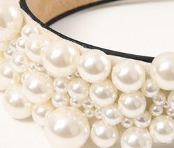 Hiuspanta|SUGAR SUGAR, Statement Pearl Hairband