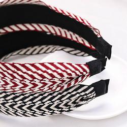 Hiuspanta|SUGAR SUGAR, Stripy Hairband in Black