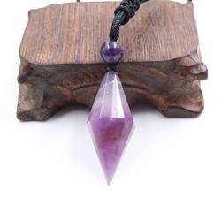 Kaulakoru, NATURE COLLECTION|Diamond Necklace with Amethyst