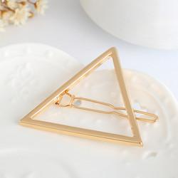 Hiuspinni|SUGAR SUGAR, Minimalistic Triangle Gold Clip