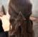 Hiuspinni SUGAR SUGAR, Minimalistic Triangle Gold Clip