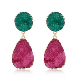 Korvakorut, FRENCH RIVIERA|Two Colour Earrings in Gold