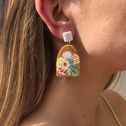 Korvakorut, FRENCH RIVIERA|Bohemian Nature Earrings