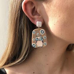 Korvakorut, FRENCH RIVIERA|Bohemian Owl Earrings