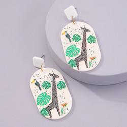 Korvakorut, FRENCH RIVIERA|Bohemian Jungle Earrings