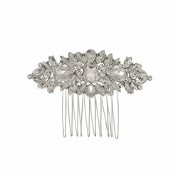 Hiuskoru, ROMANCE|Glamourous Silver Hairpiece