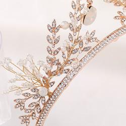 Hiuskoru, tiara ROMANCE| Elegant Tiara in Rosegold