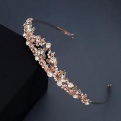 Hiuskoru, tiara ROMANCE|Classic Tiara in Rosegold