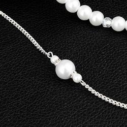 Kaulakoru selkäkorulla, ROMANCE|Pearl Necklace with Back Decoration