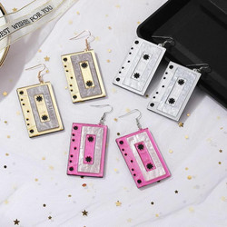 Korvakorut, PAPARAZZI|Large C-Cassette Earrings