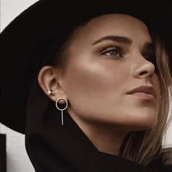 Korvakorut, FRENCH RIVIERA|Minimalistic Gold Earrings