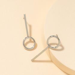 Korvakorut, FRENCH RIVIERA|Minimalistic Silver Earrings