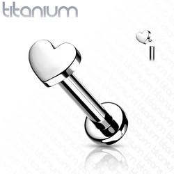 Rustokoru/traguskoru, Implant Grade Titanium Mini Heart