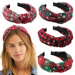 Hiuspanta|SUGAR SUGAR, Christmas Hairband in White, Red & Green