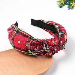 Hiuspanta|SUGAR SUGAR, Christmas Hairband in White, Red & Black