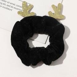 Donitsi/Scrunchie|SUGAR SUGAR, Christmas Reindeer in Black