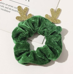 Donitsi/Scrunchie|SUGAR SUGAR, Christmas Reindeer in Green