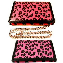 Leopard-lompakko