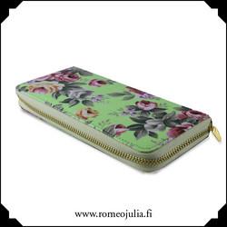 Lompakko, ruusu, neon green